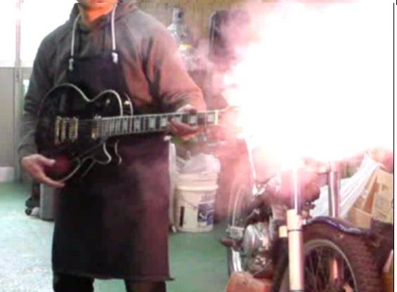 ギター型マシンガン