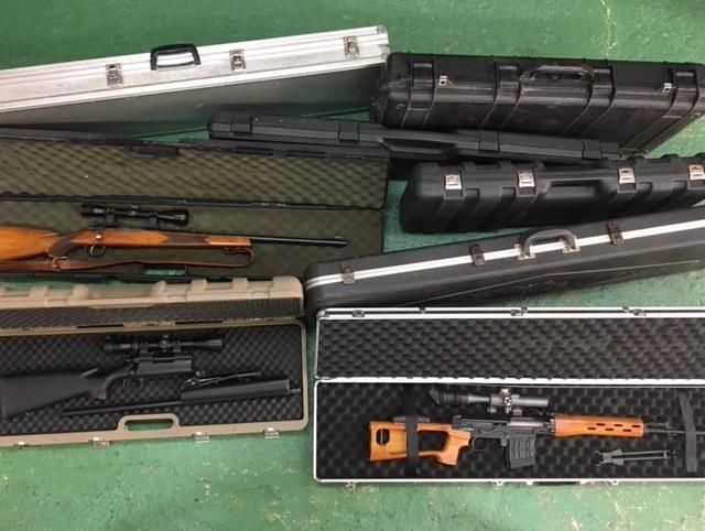 ライフル、ショットガンハードケース