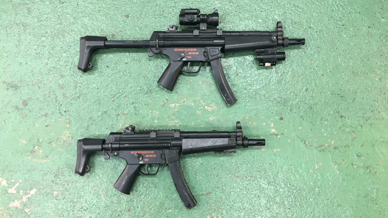 H&K MP5A5 サブマシンガン