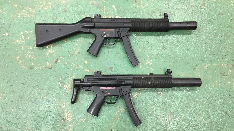 MP5 SD5/SD6サブマシンガン