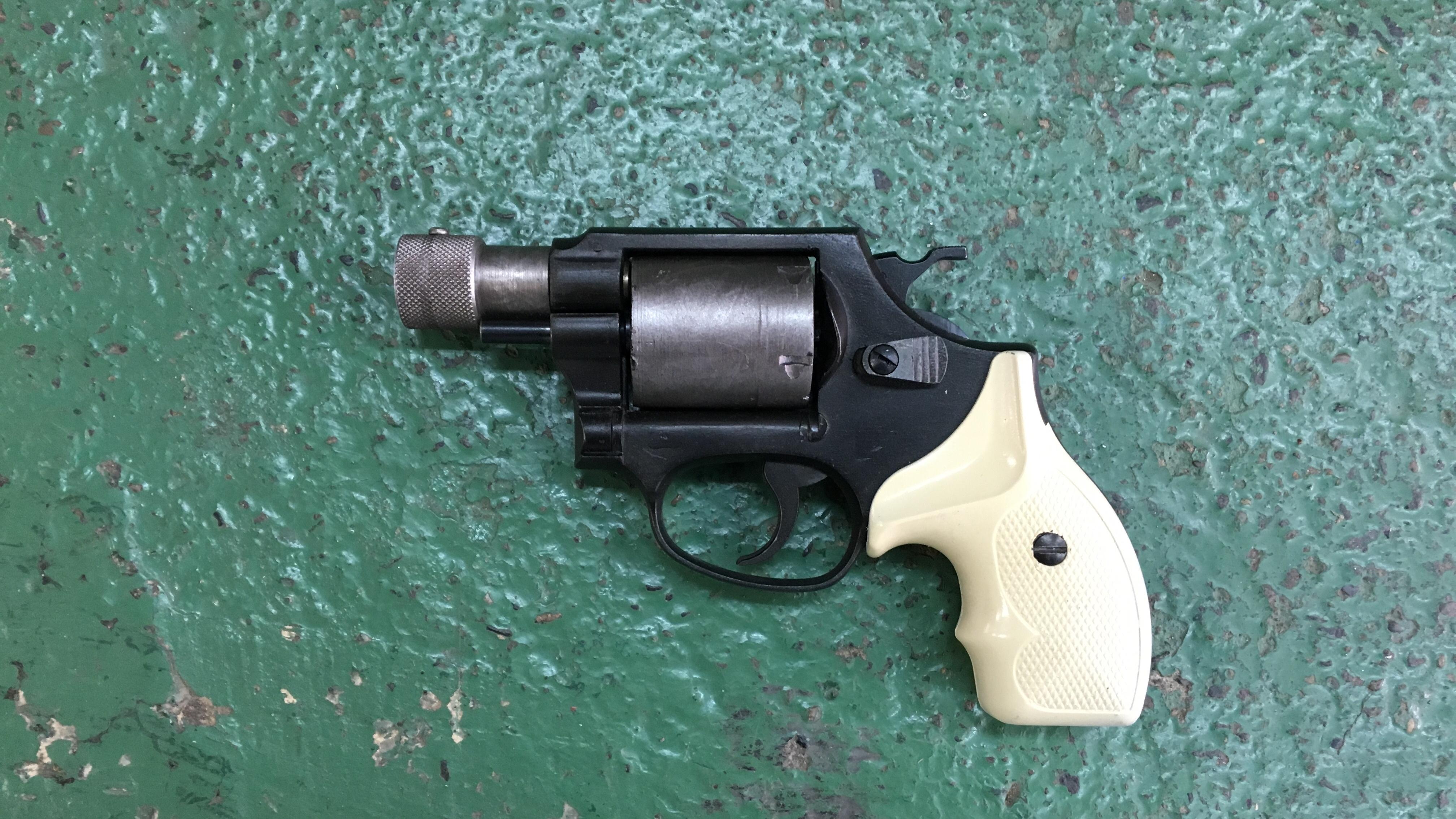 38口径密造銃回転式②