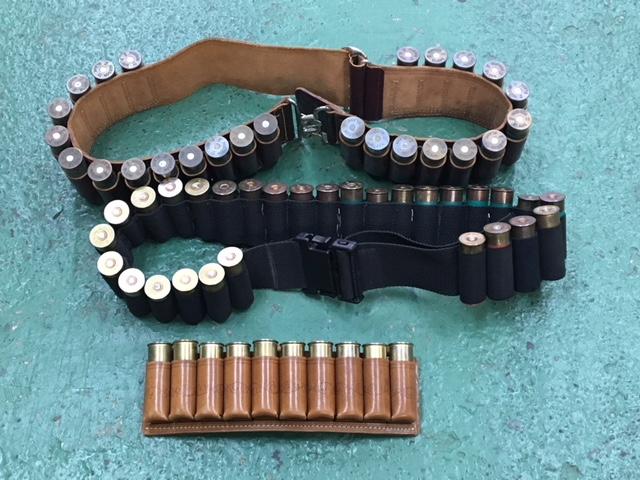 散弾用 弾帯各種