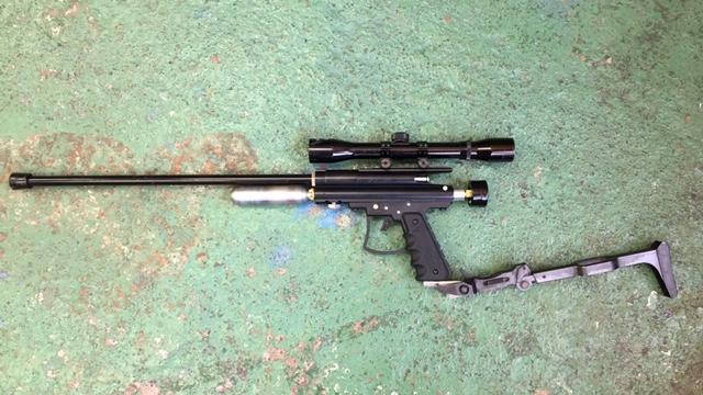 麻酔銃 ライフル型