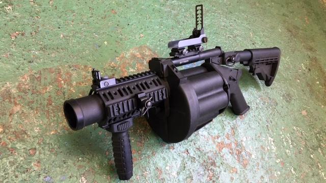MGL-140 グレネードランチャー