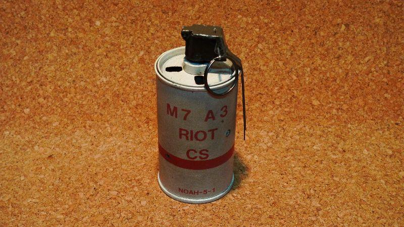 M7A3 催涙ガス手榴弾