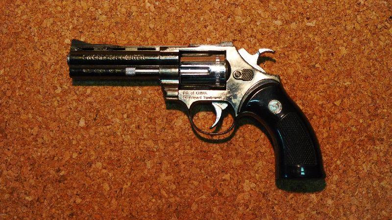 銃型ライターパイソン4inc